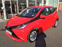2016 TOYOTA AYGO 1.0 VVT-I X-PLAY 5 DOOR HATCHBACK 69 BHP £6250.00