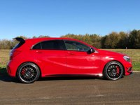 USED 2015 15 MERCEDES-BENZ A CLASS A45 2.0 AMG 4MATIC AUTO/PADDLESHIFT 360BHP 5DR HATCH BACK (AERO KIT) +PAN ROOF+AERO STYLING PACK+