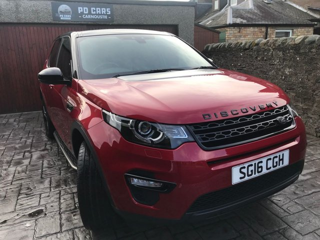 2016 16 LAND ROVER DISCOVERY SPORT 2.0 TD4 HSE BLACK 5d AUTO 180 BHP