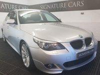 2008 BMW 5 SERIES 2.0 520D M SPORT 4d 175 BHP £5500.00
