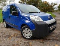 USED 2011 11 FIAT FIORINO 1.2 16V MULTIJET SX 1d PARKING SENSORS 2KEYS + VAT