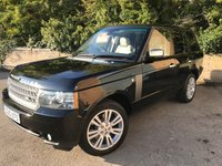 2010 LAND ROVER RANGE ROVER 3.6 TDV8 VOGUE FSH 1 FORMER KEEPER, 7 SERVICES, 2 KEYS  £14990.00