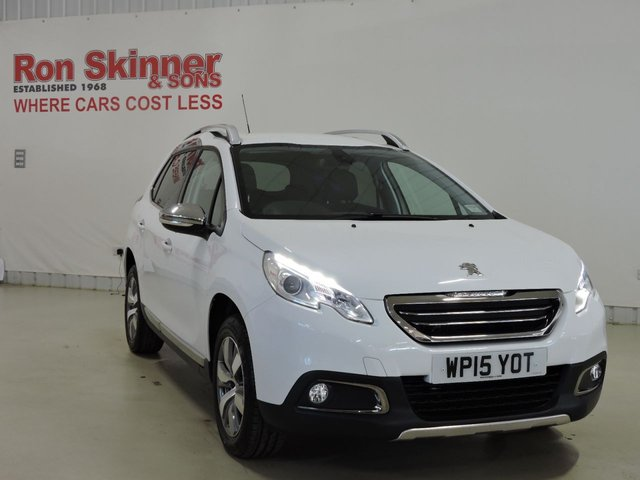 View our 2015 15 PEUGEOT 2008 1.2 S/S ALLURE 5d 82 BHP