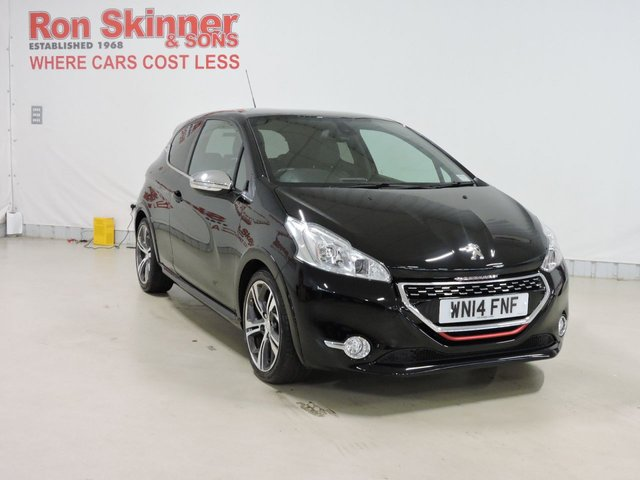 View our 2014 14 PEUGEOT 208 1.6 THP GTI 3d 200 BHP