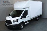 USED 2017 67 FORD TRANSIT 2.0 350 170 BHP LWB EURO 6 REAR TAIL LIFT FITTED LUTON VAN  EURO 6 ENGINE 13 FOOT REAR BED