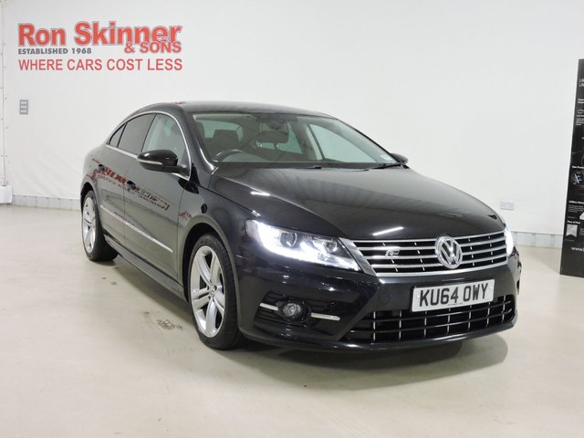 View our 2014 64 VOLKSWAGEN CC 2.0 R LINE TDI DSG BLUEMOTION TECHNOLOGY 4d AUTO 175 BHP