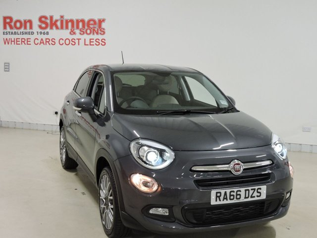 View our 2017 66 FIAT 500X 1.4 MULTIAIR LOUNGE DDCT 5d AUTO 140 BHP