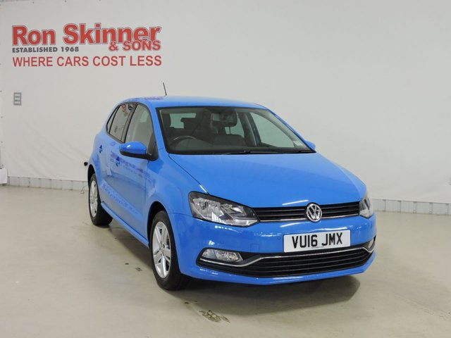 View our 2016 16 VOLKSWAGEN POLO 1.0 MATCH 5d 60 BHP