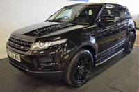 USED 2013 62 LAND ROVER RANGE ROVER EVOQUE 2.2 SD4 PURE 5d AUTO 190 BHP 4x4  5 STAMPS TO 92K - LEATHER - R/PDC - SIDE STEPS
