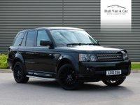 2012 LAND ROVER RANGE ROVER SPORT 3.0 SDV6 HSE 5d AUTO 255 BHP £21995.00