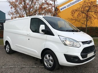 2015 FORD TRANSIT CUSTOM 2.2 290 LIMITED L2 [ REFRIGERATED / CHILLER  ] H1 VAN AIR-CON TDCi 125  £9950.00