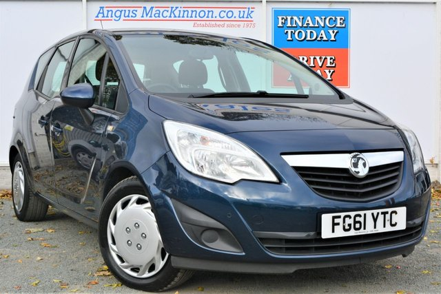 2011 61 VAUXHALL MERIVA 1.7 EXCLUSIV CDTI Rare 5dr MPV Automatic with Lovely Low Mileage