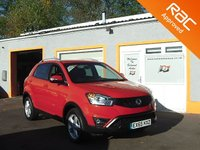 USED 2015 65 SSANGYONG KORANDO 2.0 ELX4 5d AUTO 175 BHP 1 Owner - Heated Seats- Bluetooth - Full leather - Cruise control