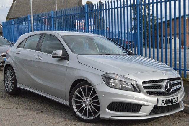 2013 13 MERCEDES-BENZ A CLASS 1.8 A200 CDI BLUEEFFICIENCY AMG SPORT 5d AUTO 136 BHP