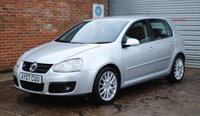 USED 2007 07 VOLKSWAGEN GOLF 2.0 GT TDI www.suffolkcarcentre.co.uk - Located at Ilketshall