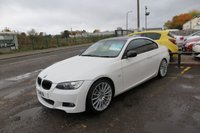 """2010 BMW 3 SERIES 3.0 325D M SPORT 2d AUTO,19""""Alloys,Red Leather £10650.00"""