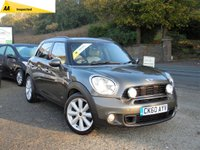 USED 2010 60 MINI COUNTRYMAN 1.6 COOPER S ALL4 5d 184 BHP TOP SPEC MINI COUNTRYMAN WITH A CHILI PACK AND THOUSAND OF POUNDS WORTH OF EXTRAS INC FULL LEATHER, HEATED SEATS, SUNROOF, SAT NAV,