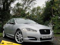 USED 2013 63 JAGUAR XF 3.0 D V6 S PREMIUM LUXURY 4d AUTO  **LUXURY PERFORMANCE SALOON**