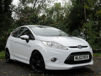 2012 FORD FIESTA 1.6 METAL 3d  £7251.00