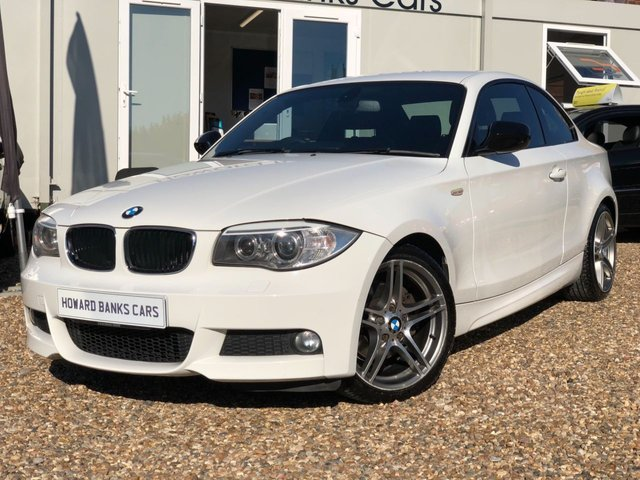 2012 12 BMW 1 SERIES 2.0 120I SPORT PLUS EDITION 2d 168 BHP