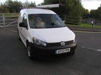 USED 2013 13 VOLKSWAGEN CADDY 1.6 C20 PLUS TDI Van - NO VAT 72000 miles, Service History , Electric Windows