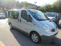 USED 2007 07 RENAULT TRAFIC 2.0 115 DCI, SL27, 9 SEATER PASSAGER MINI BUS  TWIN SIDE DOORS, ONE PRIVATE OWNER, AIR CON, ELEC PACK, SPOTLESS CONDITION   ** NO VAT! **