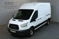 USED 2014 64 FORD TRANSIT 2.2 350 124 BHP LWB H/ROOF L3 H3 PANEL VAN ONE OWNER FULL S/H SPARE KEY