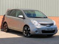 USED 2012 12 NISSAN NOTE 1.6 N-TEC PLUS 5d AUTO 110 BHP RARE AUTOMATIC MODEL, SATELLITE NAVIGATION
