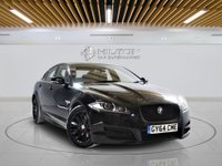 USED 2014 64 JAGUAR XF 2.2 D R-SPORT 4d AUTO 200 BHP + Sat/Nav, Leather Interior, Blueto