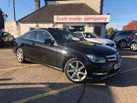 USED 2014 64 MERCEDES-BENZ C CLASS 2.1 C220 CDI AMG Sport Edition Premium Plus 2 door Automatic Diesel