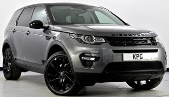 2015 LAND ROVER DISCOVERY SPORT 2.0 TD4 HSE Black 4X4 5dr Auto £28495.00