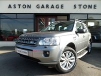 2012 LAND ROVER FREELANDER 2.2 TD4 HSE 5d 150 BHP **NAV * LEATHER * FSH** £13990.00