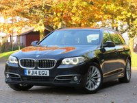 USED 2014 14 BMW 5 SERIES 2.0 520D LUXURY TOURING 5d 181 BHP