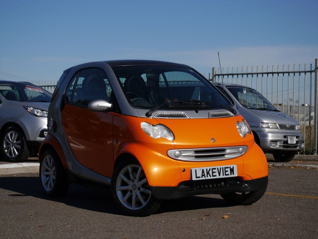 USED 2005 54 SMART FORTWO 0.7 PASSION SOFTOUCH 2d AUTO 61 BHP