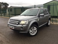 2013 LAND ROVER FREELANDER 2 2.2 TD4 XS 5d 150 BHP SAT NAV LEATHER PRIVACY FSH £11990.00