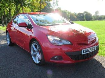 2012 VAUXHALL ASTRA 1.6 GTC SRI 3d 177 BHP £6195.00