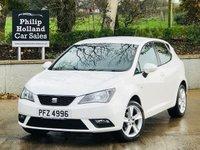 "USED 2013 SEAT IBIZA 1.4 TOCA 5d 85 BHP Sat Nav, Bluetooth, 16"" Alloy wheels"