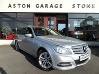 USED 2013 13 MERCEDES-BENZ C CLASS 2.1 C220 CDI BLUEEFFICIENCY EXECUTIVE SE AUTO 168 BHP **NAV** ** LEATHER * NAV * CRUISE **