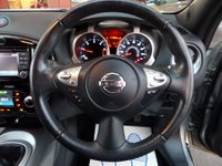 USED 2013 13 NISSAN JUKE 1.5 TEKNA DCI 5d 110 BHP **NAV * CAMERA** ** SAT NAV * LEATHER * CAMERA**