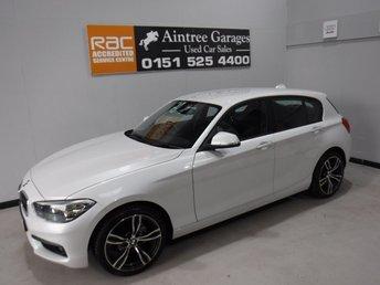 2014 BMW 1 SERIES 2.0 116D SPORT 5d 114 BHP £11500.00