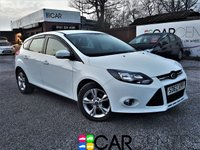 USED 2012 62 FORD FOCUS 1.0 ZETEC 5d 99 BHP 1 PREVIOUS OWNER + START/STOP