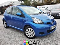 USED 2009 59 TOYOTA AYGO 1.0 BLUE VVT-I 5d 67 BHP 1 PREV OWNER + FULL SERV HIST