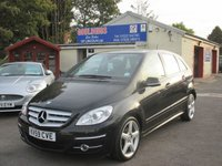 2009 MERCEDES-BENZ B CLASS 2.0 B200 CDI SPORT 5d AUTO 140 BHP £5000.00