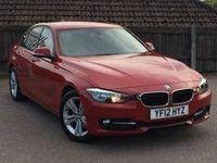 2012 BMW 3 SERIES 2.0 320D SPORT 4d 184 BHP £8995.00