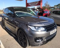 USED 2016 16 LAND ROVER RANGE ROVER SPORT 3.0 SDV6 HSE 5d AUTO 306 BHP