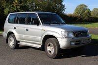 2002 TOYOTA LAND CRUISER 3.0 GX 8-SEATS D-4D 5d 161 BHP £2900.00