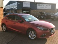 2015 MAZDA 3 2.0 SE-L NAV Soul Red Met. 5 Door 118 BHP Fully Loaded One Owner Car !!! £8995.00