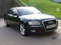2009 AUDI A8 3.0 TDI QUATTRO DPF SPORT 4d AUTO 229 BHP £9995.00