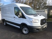 USED 2015 15 FORD TRANSIT 290 2.2 125 BHP L2 H2 **70 VANS IN STOCK**