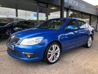 USED 2010 10 SKODA OCTAVIA 2.0 VRS TDI CR 5d 170 BHP Full Main Dealer History including Cambelt. Long Mot April 2019